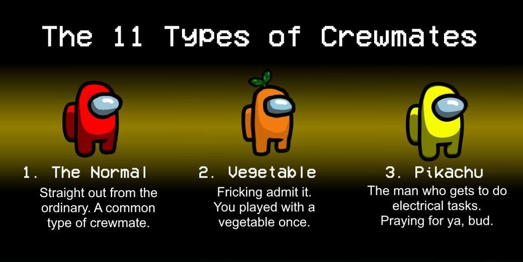 Геймер выделил 11 типов игроков вAmongUs. Это смешно | Канобу - Изображение 5925