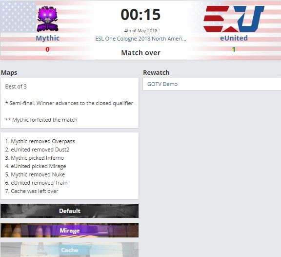 ESL дисквалифицировала участника квалификации ESL One Cologne по CS:GO из-за стримов на Twitch. - Изображение 1