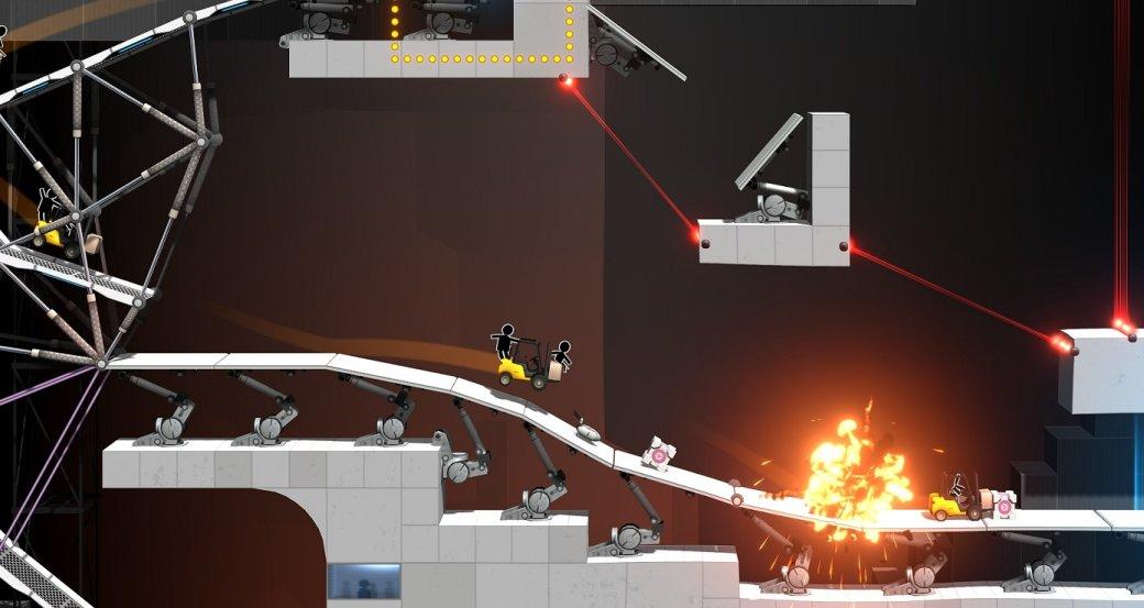 Рецензия на Bridge Constructor Portal. Обзор игры - Изображение 6