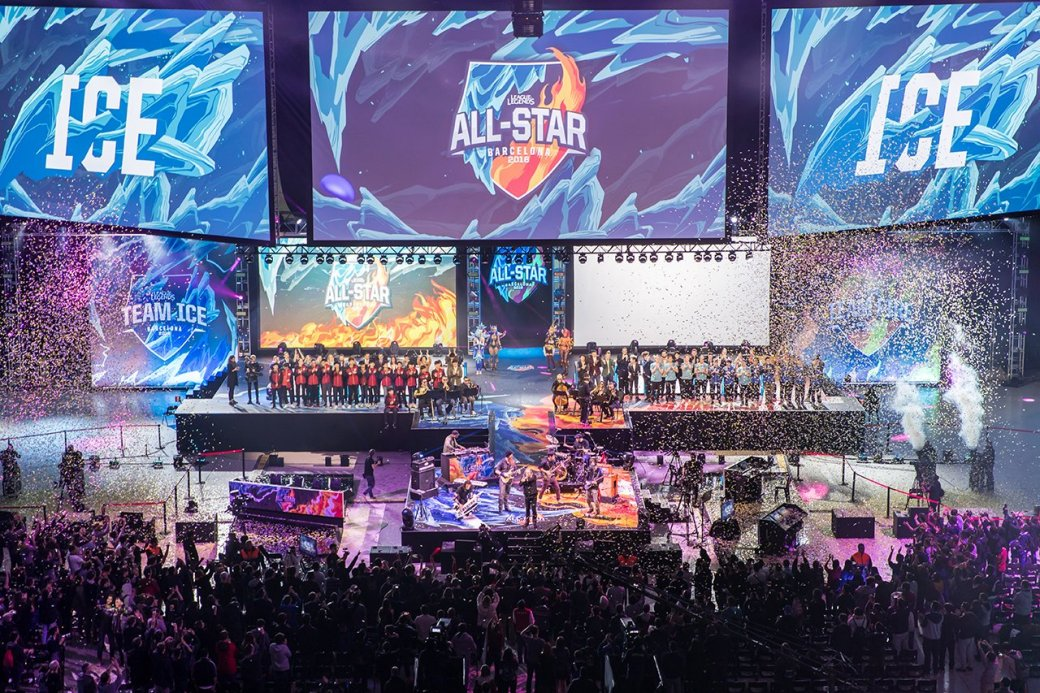 Как прошел турнир All-Star по League of Legends   Канобу