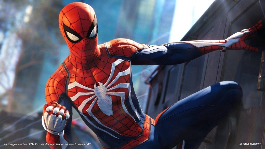 Гифка дня: как Человек-паук радуется высоким оценкам Spider-Man для PS4. - Изображение 1