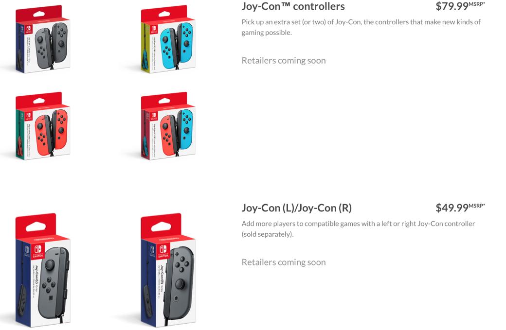 Подробности Joycon — парного контроллера Nintendo Switch | Канобу - Изображение 3993